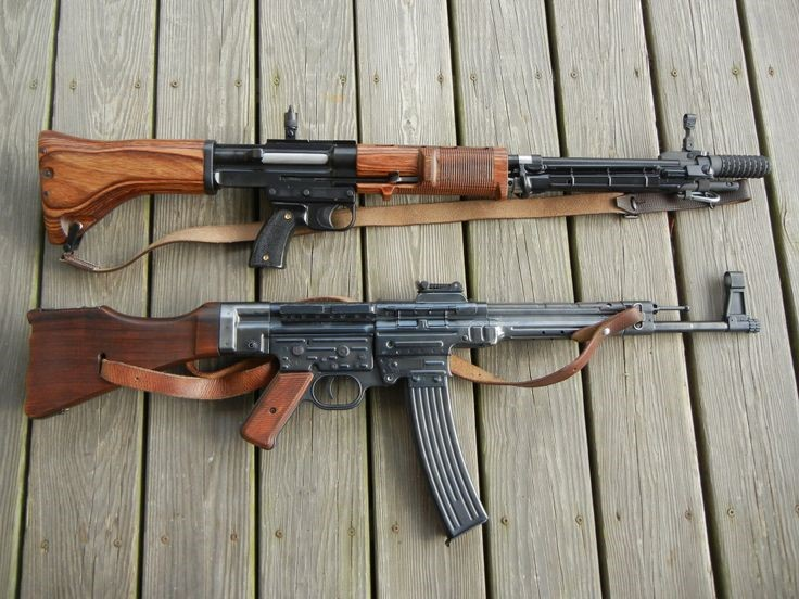 Submachine Guns, Assault Rifles